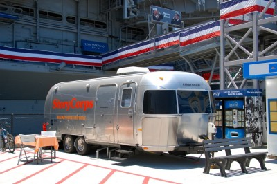 DSC_0014 StoryCorps' Airstream by USS Midway